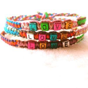 New💛Love Bracelet Bundle Set of 3